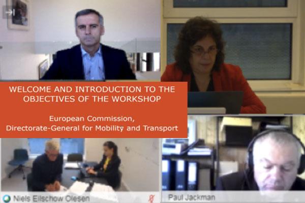 Enrique Lorca, en la reunión acerca de la revisión de la Directiva sobre Permisos de Conducción